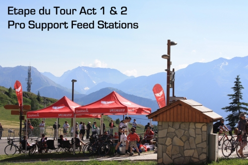 La Fuga Pro Support - Feed stations